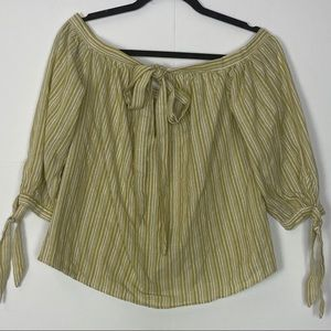 SHEIN PESANT TOP WITH TIES